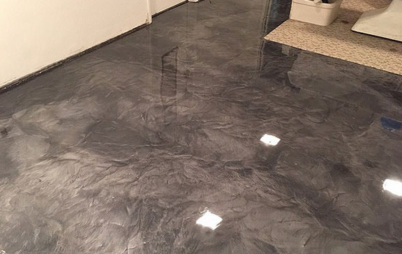 Arkansas Metallic Flooring