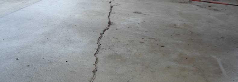 Cracked Concrete Repair
